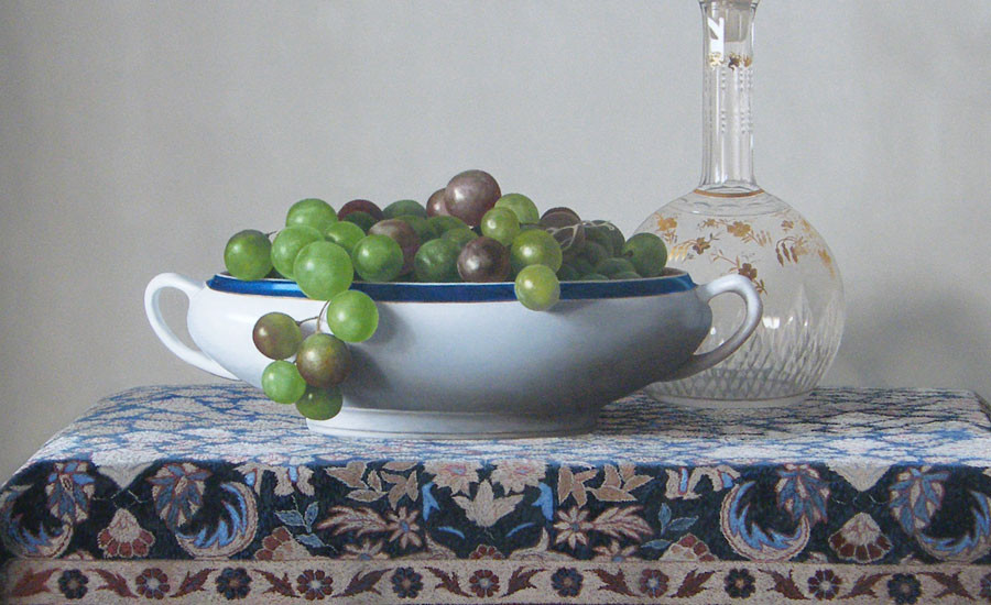 Renato Meziat, Grapes and Crystal
