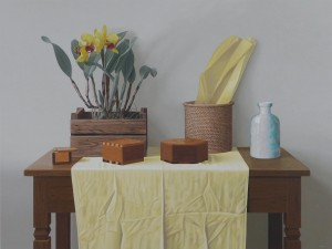 Still Life with Wood Boxes